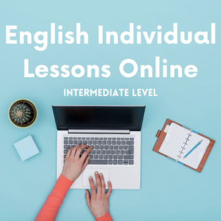 Intermediate English Individual Lessons Online