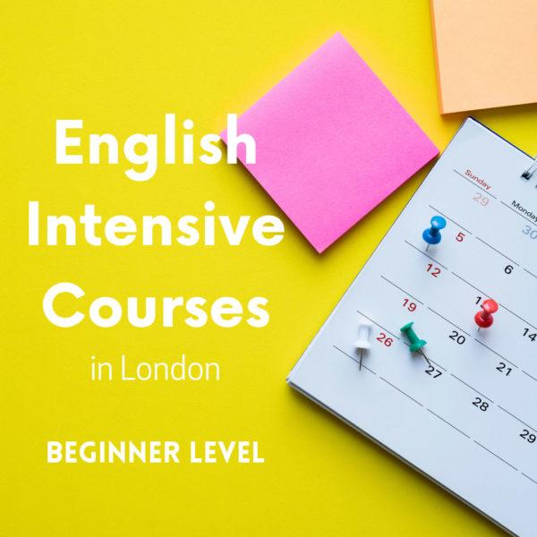 Beginner English Intensive Courses