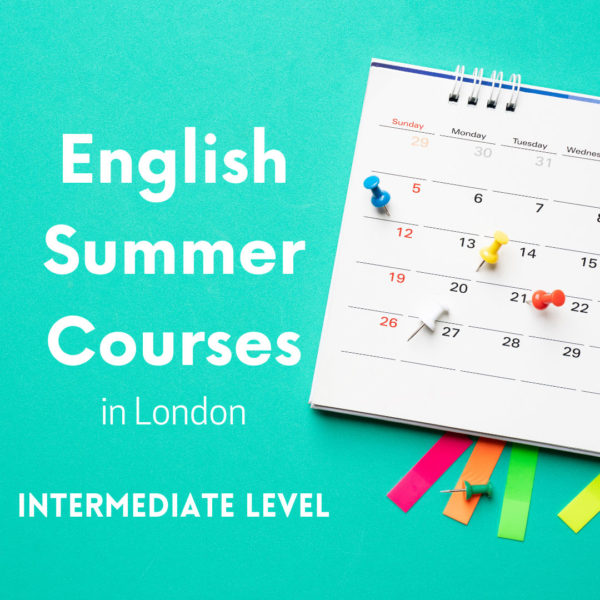 Intermediate English Summer Courses in London